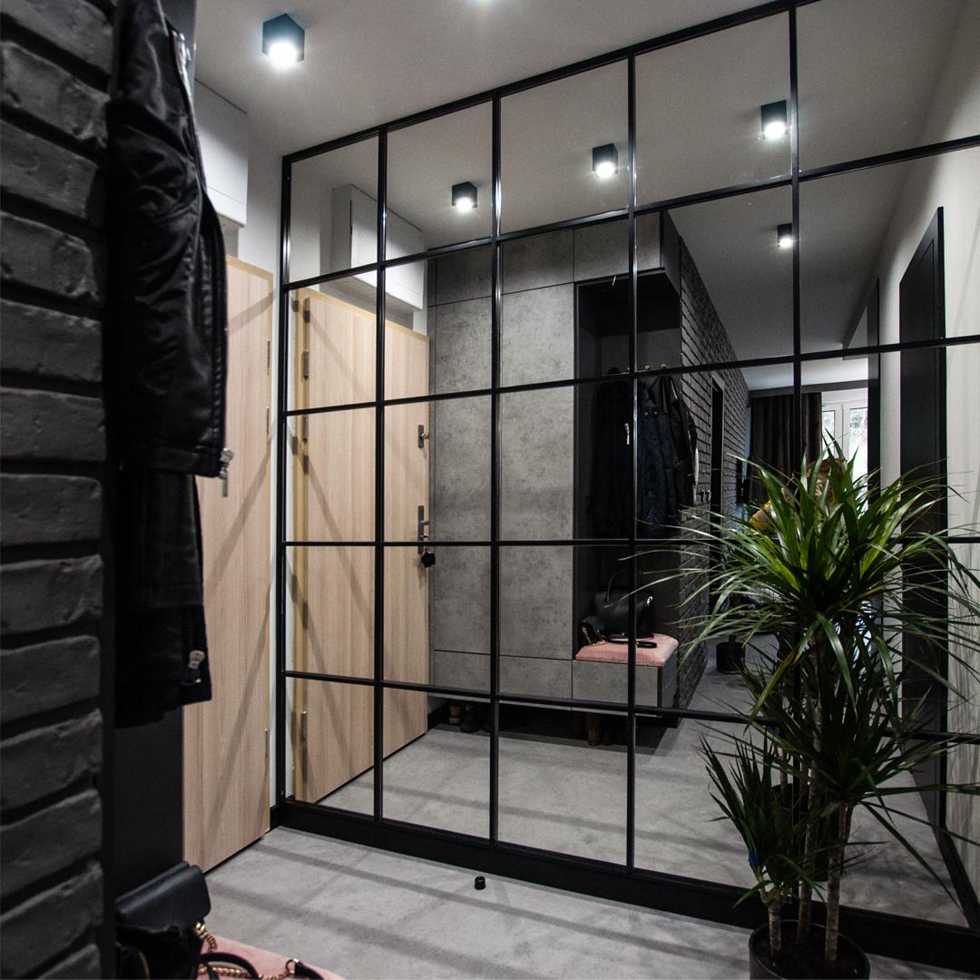 Projekt apartamentu młoda moderena w Gdańsku